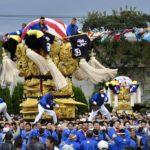 【2018】新居浜太鼓祭りの動画で2017年のものを紹介!